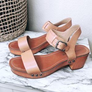 LUCKY BRAND Clog Sandals Hannela Strap Size 9